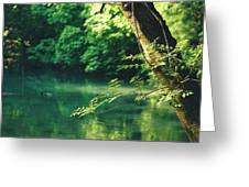 N001 Impression 4k Greeting Card