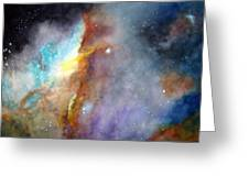 N11b Large Magellanic Cloud Greeting Card