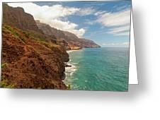 Na Pali Coast 5 Greeting Card
