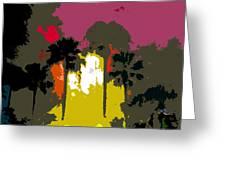 Na Palms Greeting Card