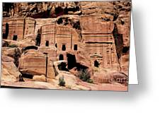 Nabataeans' City Greeting Card