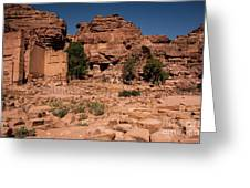 Nabatean's Village Greeting Card