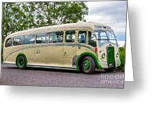 Nae 3 - Bristol L6b Coach Greeting Card