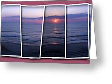 Nags Head In Snapshots Greeting Card
