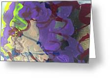 Nail Polish Abstract 15-r11 Greeting Card