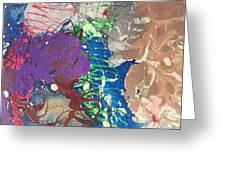 Nail Polish Abstract 15-t11 Greeting Card