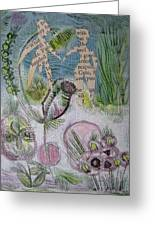 Naked Garden I Greeting Card
