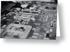 Naked Technology Greeting Card