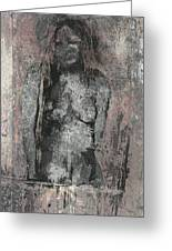 Naked Woman But Not Sexy Woman N.2 Greeting Card