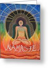 Namaste' Greeting Card