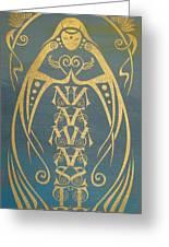Namaste Reflectograph Greeting Card