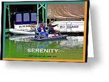 Namaste - Sacramento Delta Greeting Card