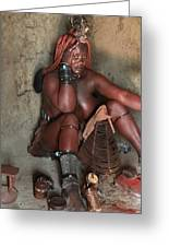Namibia Tribe 1 Greeting Card