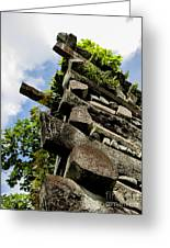 Nan Madol Wall Greeting Card