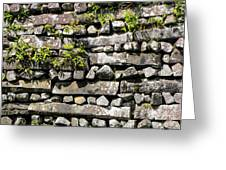 Nan Madol Wall2 Greeting Card