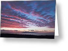 Nanabijou Sunrise Greeting Card