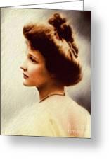 Nancy Witcher Langhorne Astor Greeting Card