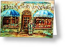 Nancys Fine Pastries Greeting Card