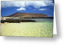 Nanina Beach Greeting Card