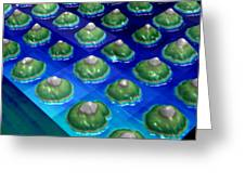Nanoparticles, Lithium Metal, Afm Greeting Card