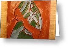 Nansamba - Tile Greeting Card