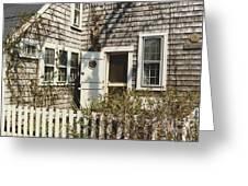 Nantucket Cottage Greeting Card