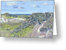Nantucket June Dunes I Greeting Card