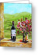 Napa Valley Greeting Card