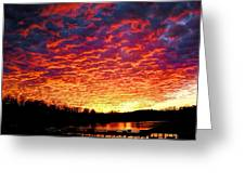 Napalm Clouds Greeting Card
