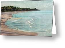 Naples Beach Greeting Card