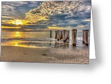 Naples Florida Sunset Greeting Card