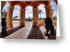 Naples Florida X Greeting Card