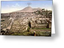 Naples: Mt. Vesuvius Greeting Card