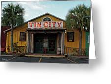 Naples Tin City - Open For Business Greeting Card