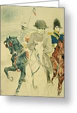 Napoleon Bonapart Greeting Card
