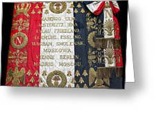 Napoleonic Flag Greeting Card