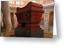 Napoleon's Tomb Greeting Card
