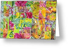Naptime Collage 08 Greeting Card