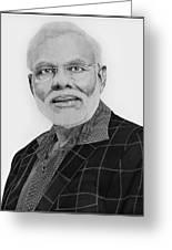 Narendra Modi Greeting Card