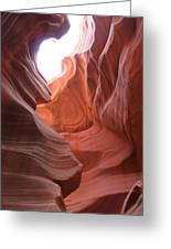 Narrow Canyon Xvii Greeting Card