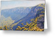 Narrow Neck Katoomba Greeting Card