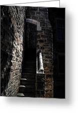 Narrow Staircase Greeting Card