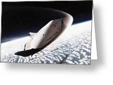 Nasa: Crew Return Vehicle Greeting Card