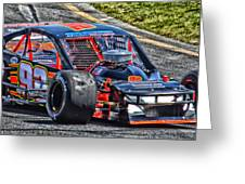 Nascar 92 Sk Modified Greeting Card