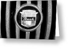 Nash Emblem Greeting Card