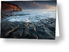 Nash Point South Wales Greeting Card