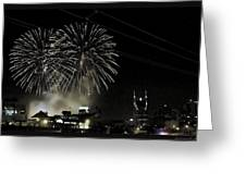 Nashville 4th Of July Greeting Card
