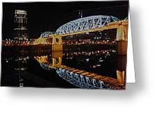 Nashville Bridge Greeting Card