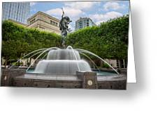 Nashville Fountain Greeting Card