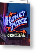 Nashville Honky Tonk Central Greeting Card